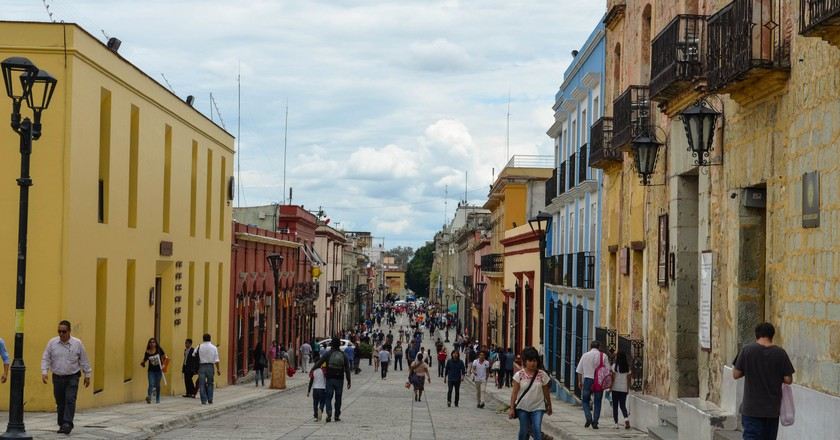 Oaxaca is great for walking