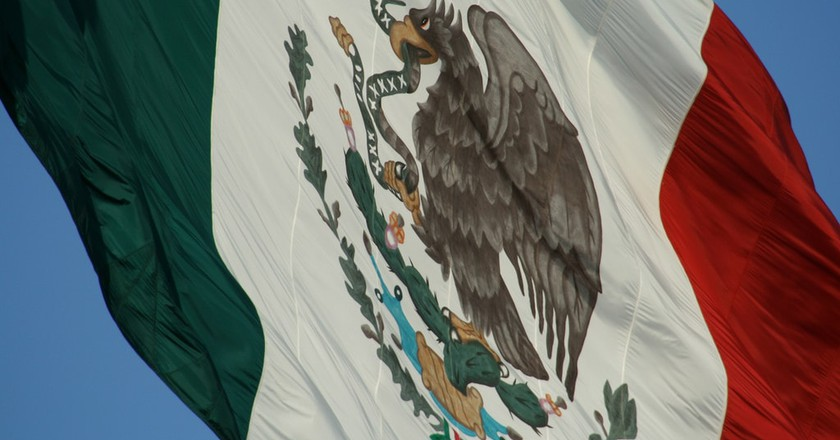 Mexican Flag │© Esparta Palma / flickr