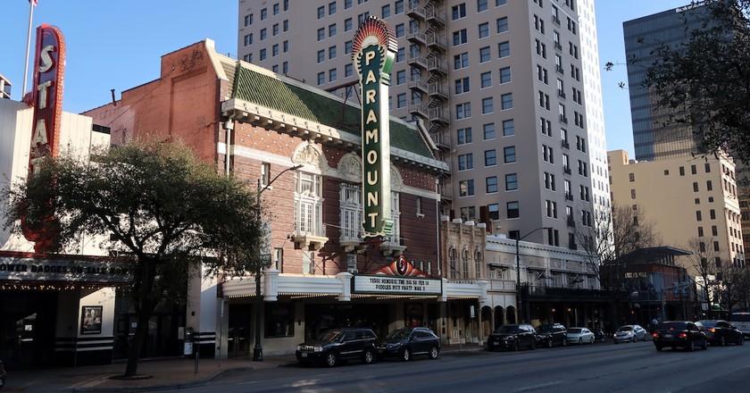 Paramount Theatre on Congress Avenue