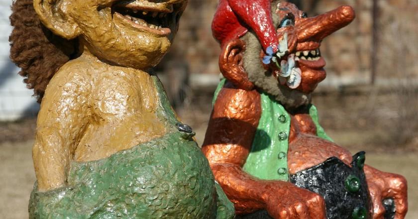 Trolls in Mount Horeb