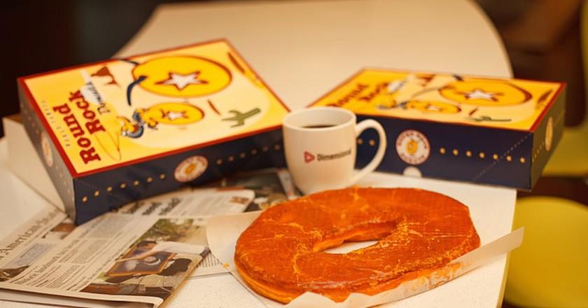 Texas Sized Donut