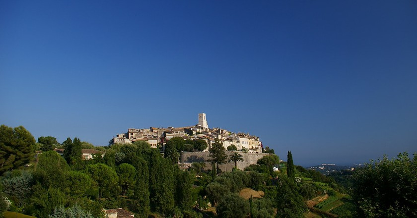 The beautiful hilltop Saint-Paul-de-Vence