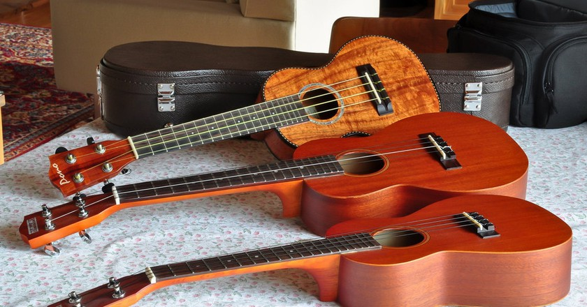 Ukuleles are prized and celebrated in Hawaii