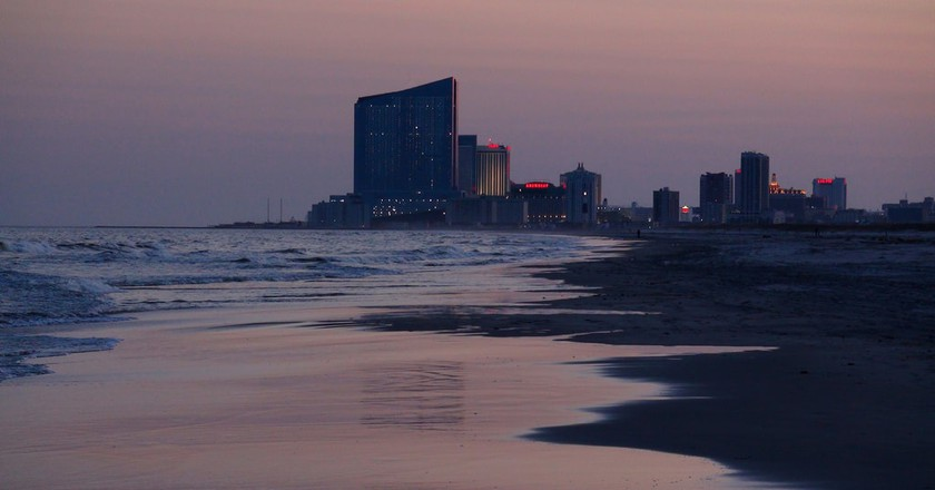 The view from Brigantine Beach