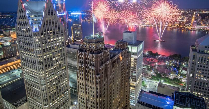 Penobscot fireworks