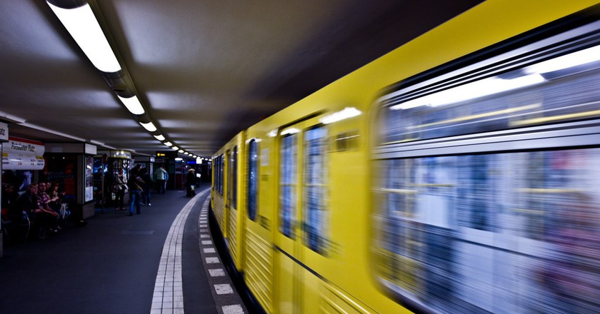 Berlin's U-Bahn Train   © Michael Mayer / Flickr