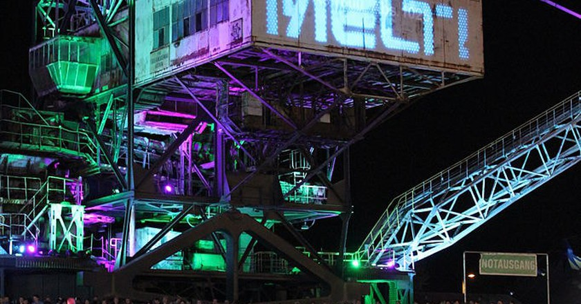 Melt! music festival in Germany