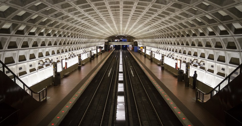 D.C. has a prolific, affordable mass transit system   © Adam Foster / Flickr