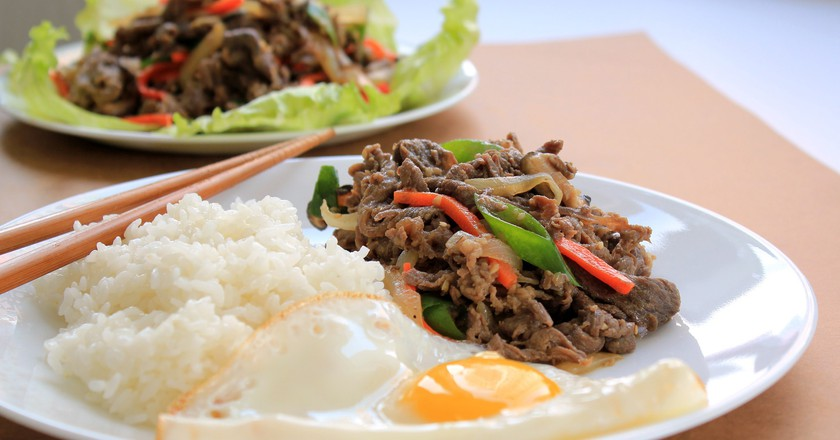 Bulgogi is one of the most beloved dishes in Korea.