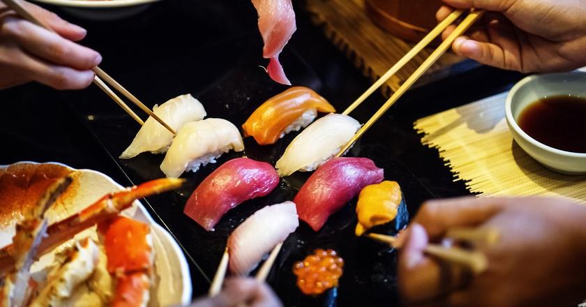 Sushi dinner   Public Domain / Pixabay