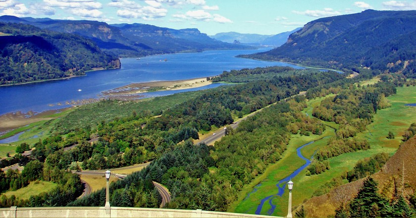 The Columbia Gorge is one of Oregon's awe-inspiring locales