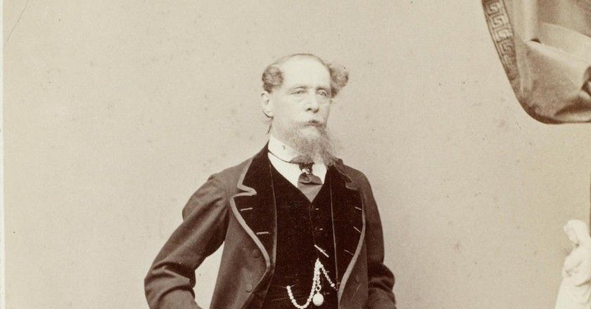 Charles Dicken by Jeremiah Gurney