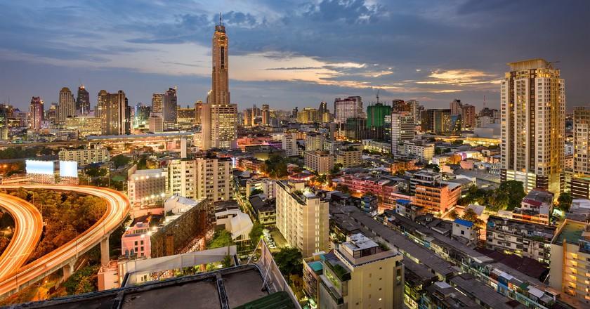 The stunning Bangkok skyline | © Ajith Kumar / Flickr