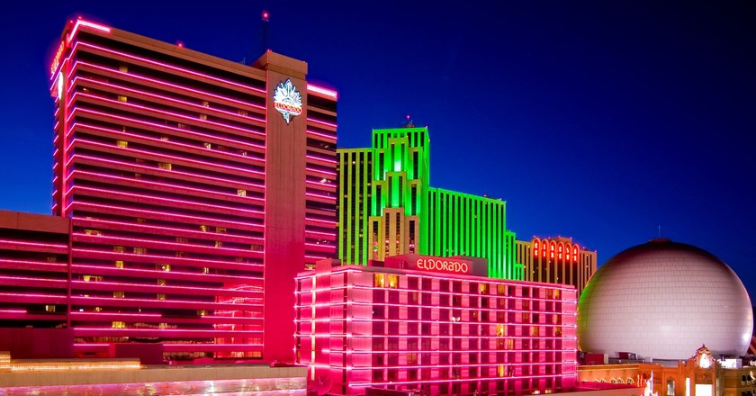 Casinos in downtown Reno