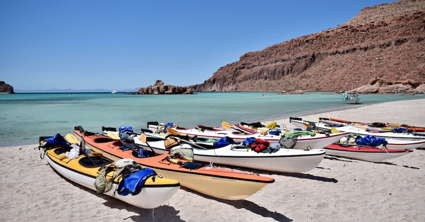 Kayaking in Espiritu Santo Island | © Jessica Vincent