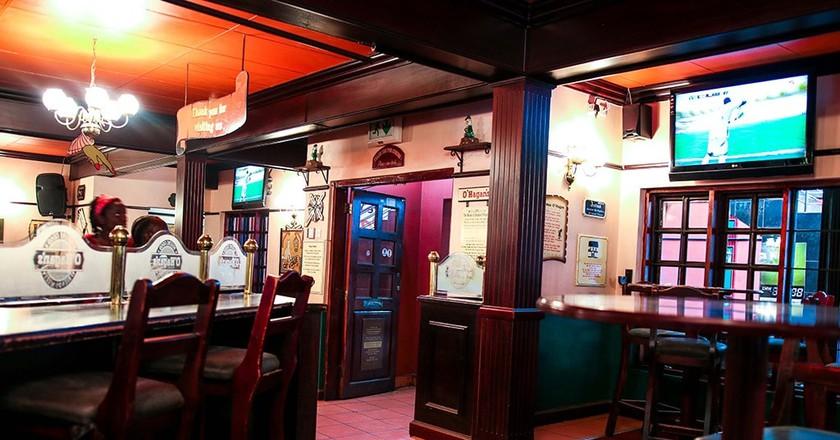 O' Hagan's Bar in Lusaka