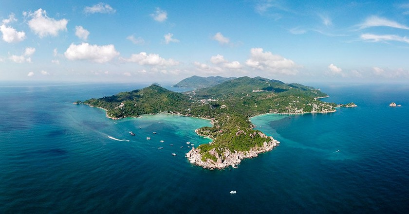 Koh Tao from above | © Logan Brown / nomadphotographer.com