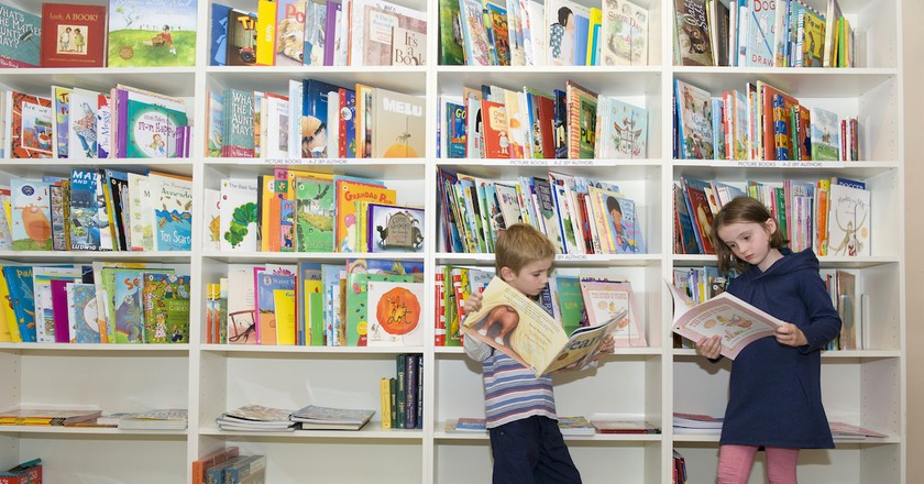 Kids books at Matilda Bookshop
