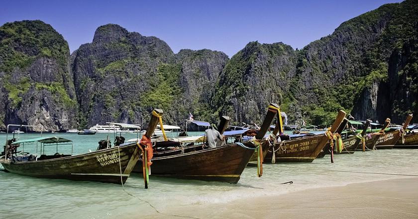 Maya Bay   © WikiCommons