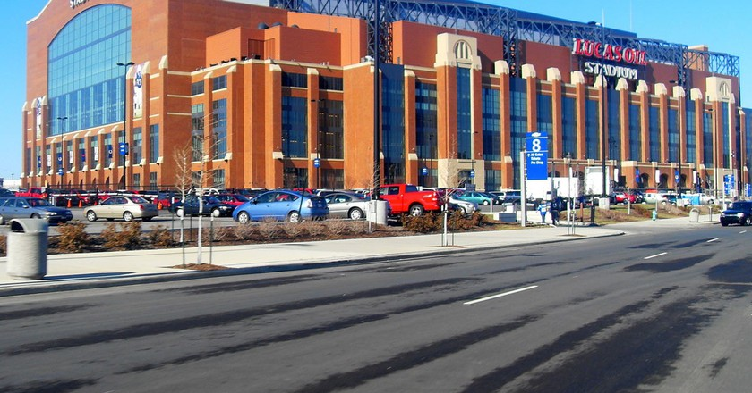 Lucas Oil Stadium | © Caldwell317/WikiCommons