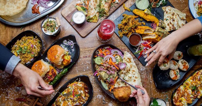 Maya Masala food