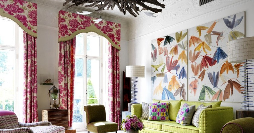The Drawing Room at Number 16 | Courtesy of Firmdale Hotels
