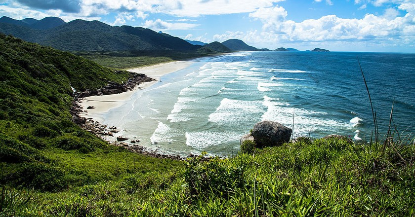 The untouched beaches of Ilha do Cordoso