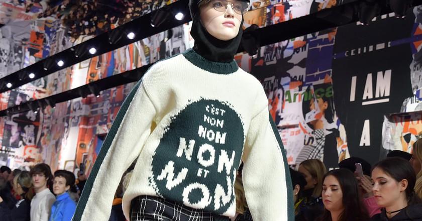 Dior runway autumn/winter 2018, Paris