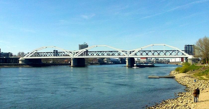 Rhine Bridge, Ludwigshafen   © wudli / Pixabay