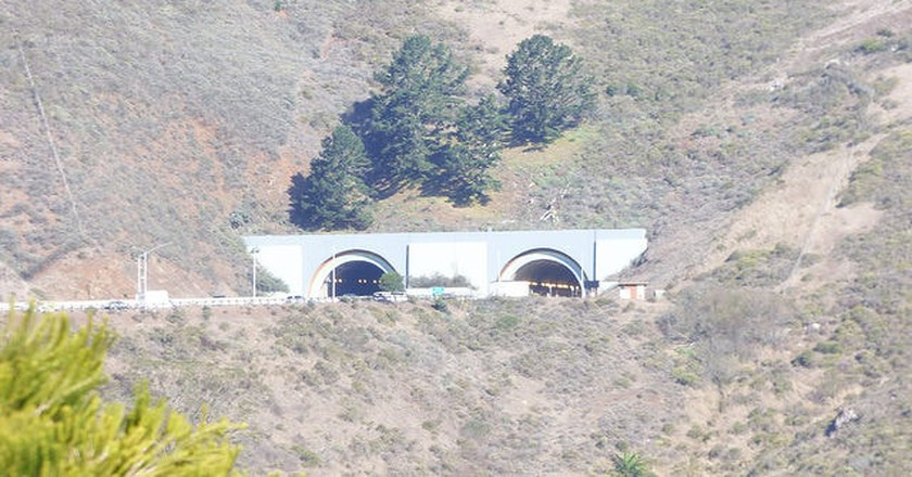 The Robin Williams Tunnel just outside San Francisco, CA