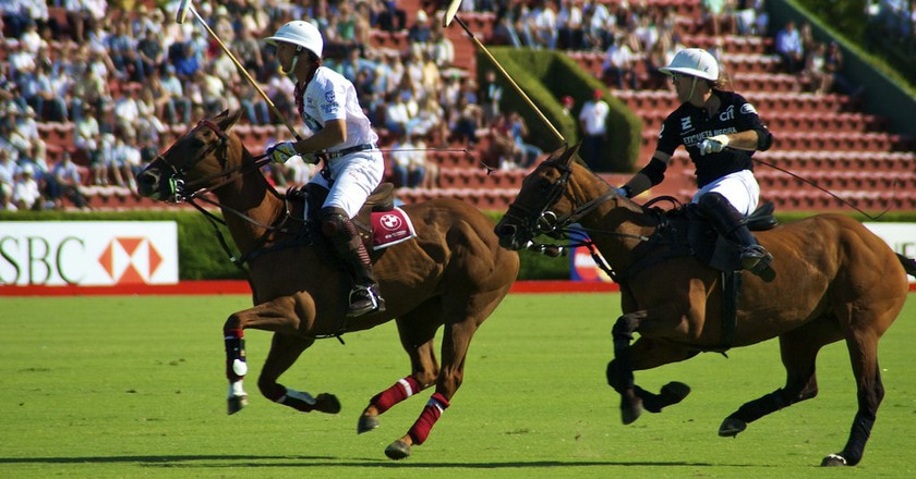 The elegant sport of polo in Argentina