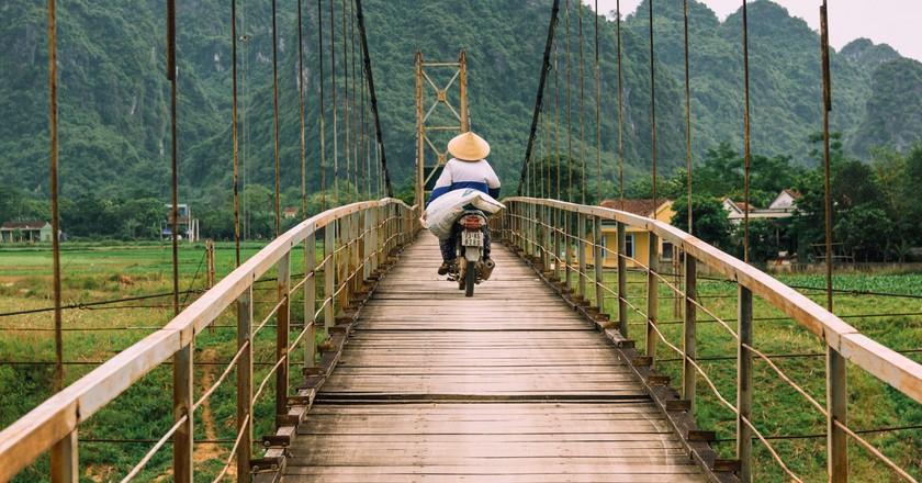 Vietnam offers plenty of ideal motorbike routes.