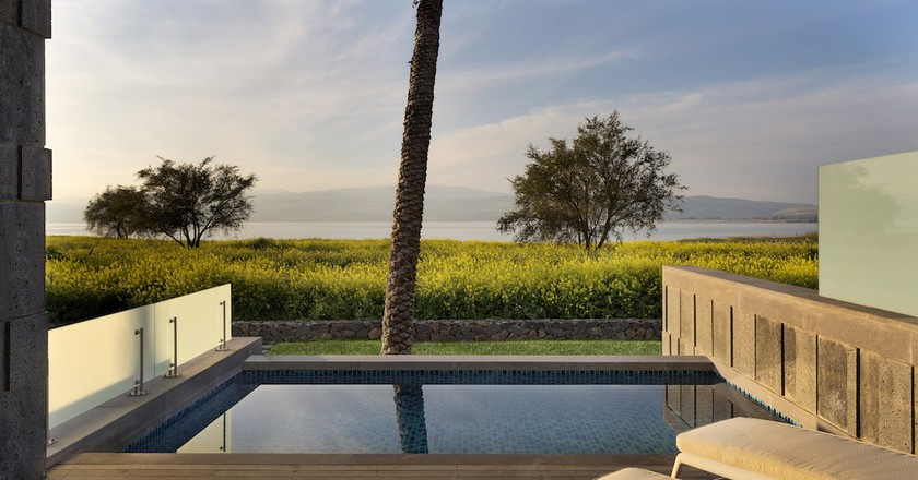 View of the Sea of Galilee from The Setai | © Assaf Pinchuk