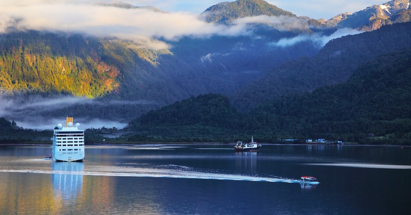 Sunrise in the Chilean fjord, South America | © kavram/Shutterstock