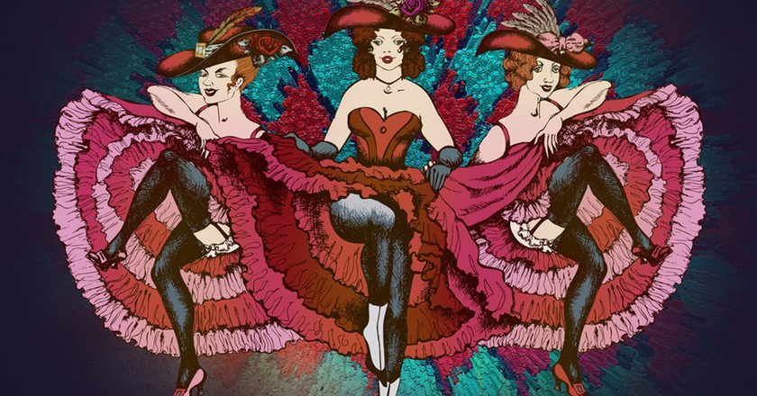 The cancan was considered scandalous in 19th-century Paris | © truhelen/Shutterstock