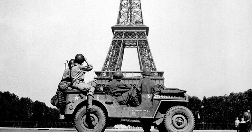 Paris during the war   ©John Downey / WikiCommons