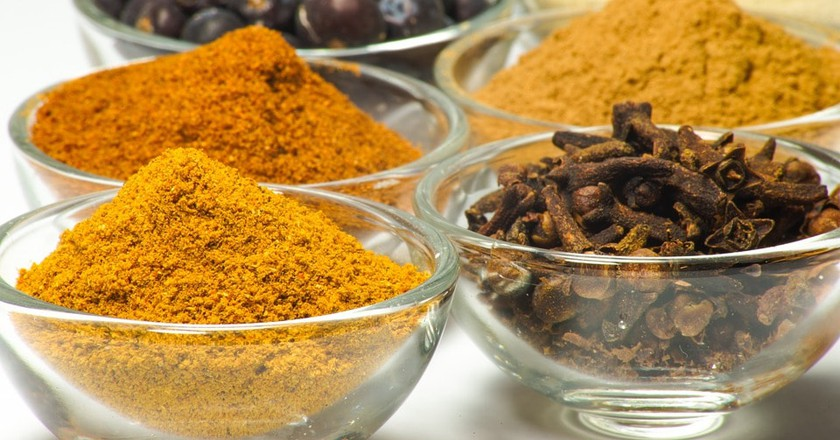 Spices often used in Sri Lankan cuisine | © Taken / Pixabay