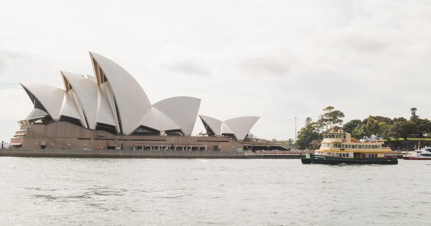 Sydney Harbour views from Parramatta River Ferry
