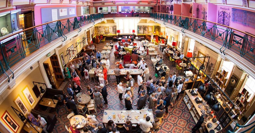 Bird's eye view of The Edwardian Tea Rooms, Birmingham