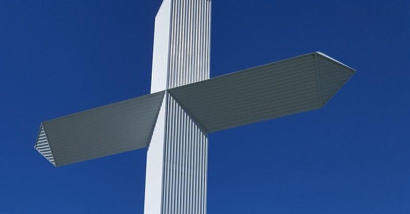 The World's Largest Cross in Effingham, Illinois   © Clara1978 / WikiCommons