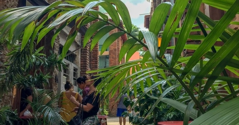 The secret Cafe Secreto in Largo do Machado, Rio de Janeiro
