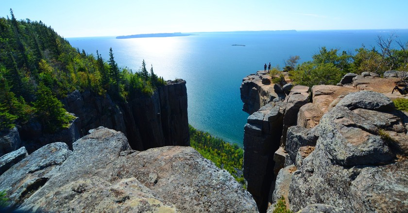 Hiking in Thunder Bay