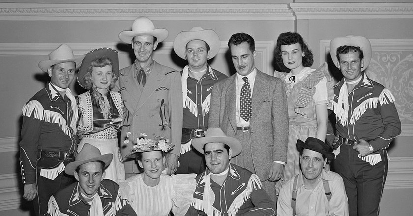 Grand Ole Opry performers at Carnegie Hall