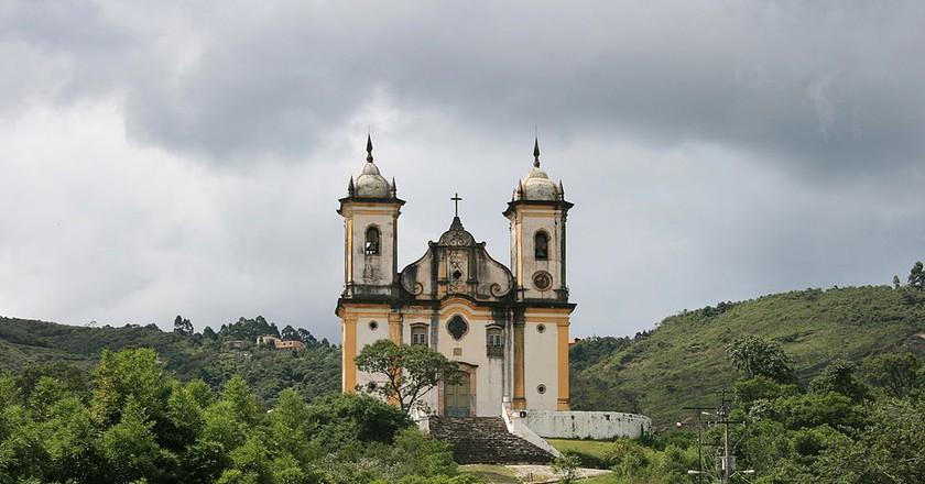 The São Francisco de Paula church in Ouro Preto