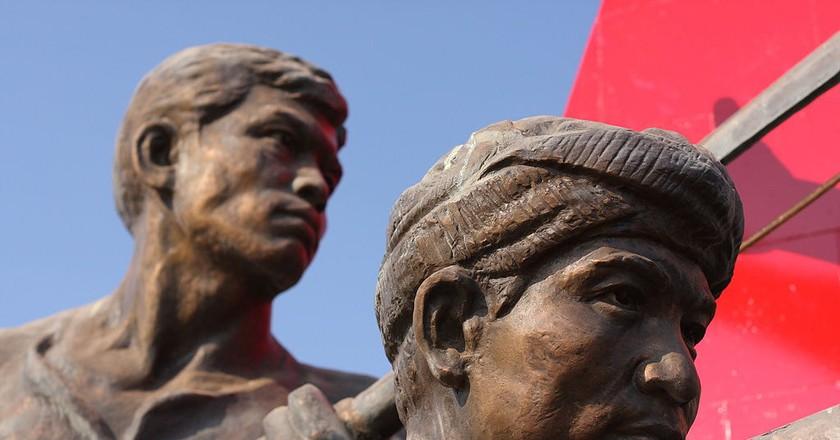 Kaysone Phomvihane Memorial, Vientiane, Laos