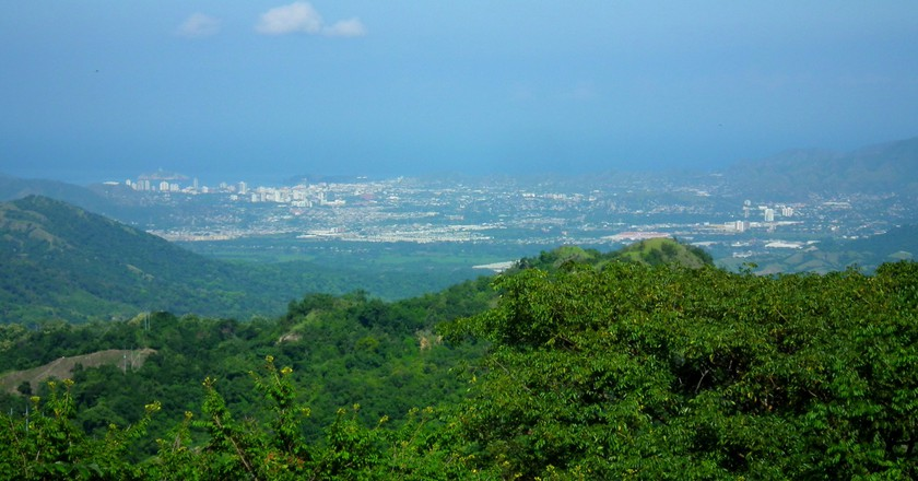The view from Minca, Colombia