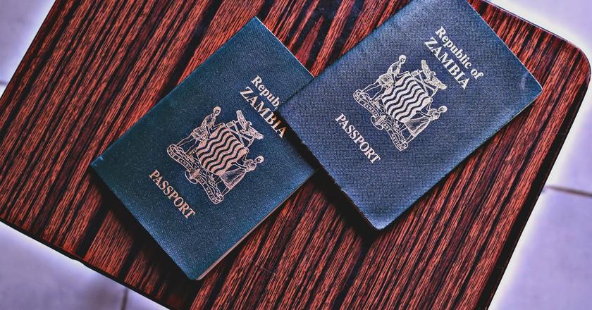 Zambian passport