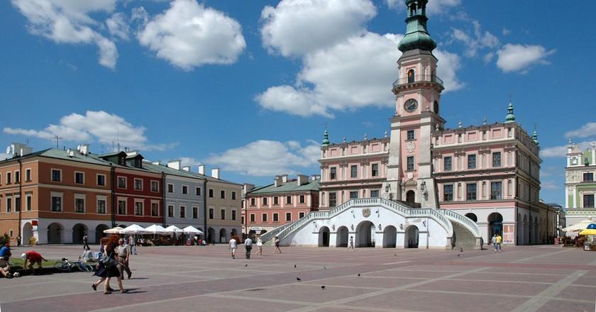 Zamość City Hall | © Michal Gorski / WikiCommons