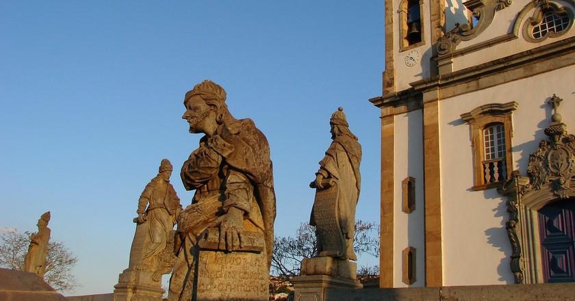 The Twelve Prophets of Aleijadinho in Congonhas, Minas Gerais