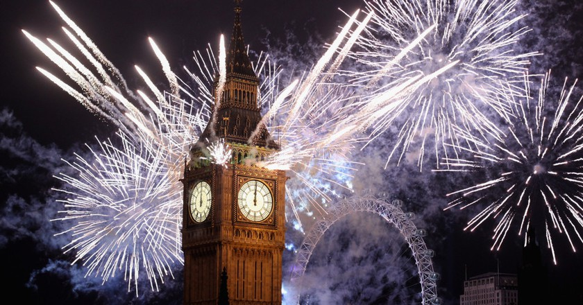 Alternative Places to See London's New Year's Eve Fireworks